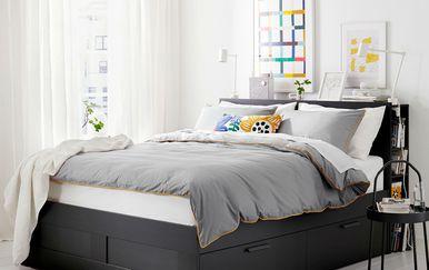 IKEA u ponudi ima krevete s ladicama i spremnicima