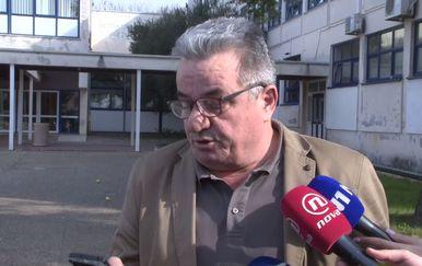 Ravnatelj zadarske Ekonomsko-birotehničke i trgovačke škole Jozo Dragić (Foto: Dnevnik.hr)