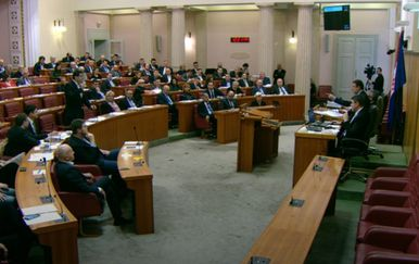 Okršaj Grmoje i Jandrokovića u Saboru (Foto: DNEVNIK.hr)