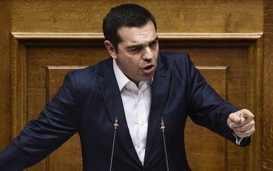 Grčki premijer Alexis Tsipras (Foto: AFP)