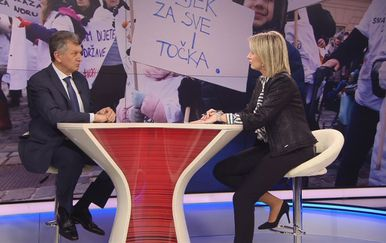 Ministar zdravstva Milan Kujundžić i Sabina Tandara Knezović (Foto: Dnevnik.hr)