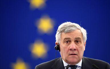 Predsjednik Europskog parlamenta Antonio Tajani (Foto: AFP)