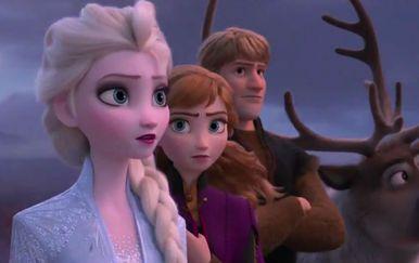 Prizor iz trailera za crtić \'Snježno kraljevstvo 2\'