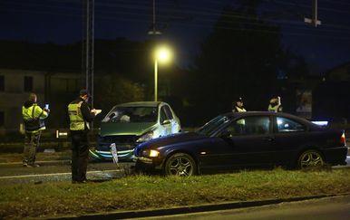 Prometna nesreća na Aleji Bologne (Foto: Borna Filic/PIXSELL)