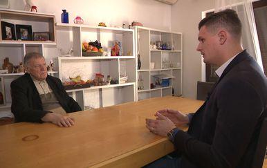 Dino Goleš razgovara s psihijatrom Vladimirom Grudenom o zločinu u Pavlovcu (Foto: Dnevnik.hr)