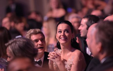 Katy Perry i Orlando Bloom (Foto: AFP)