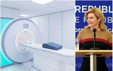 Predsjednica obavila pregled magnetske rezonancije (Foto: Marko Lukunic/PIXSELL/GettyImages)