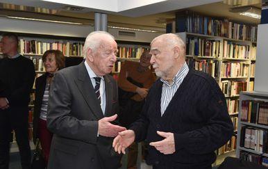 Budimir Lončar i Stjepan Mesić (Foto: Davorin Visnjic/PIXSELL)