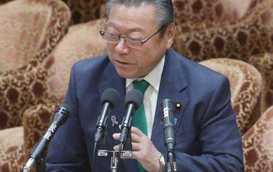 Japanski ministar Yoshitaka Sakurada (Foto: AFP)
