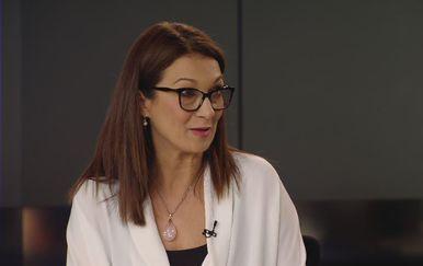 Dr. Mirela Bušić, nacionalna transplantacijska koordinatorica, u Dnevnik Nove TV (Foto: Dnevnik.hr) - 1