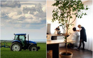 Poljoprivreda i firizerski salon/Ilustracija (Foto: Davor Javorovic/Davorin Visnjic/PIXSELL)