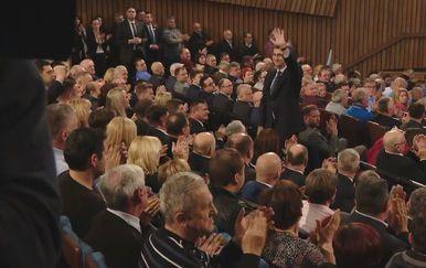 Premijer Andrej Plenković na skupu HDZ-a (Foto: Dnevnik.hr)