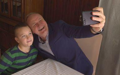 Mate Bulić posjetio dječaka
