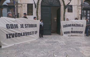 Prosvjed protiv CGO-a Lučino razdolje - 2