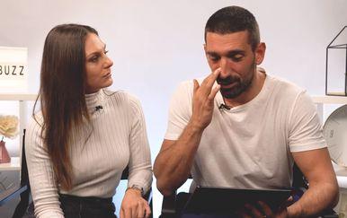Slavko Sobin i Gabriela Pilić