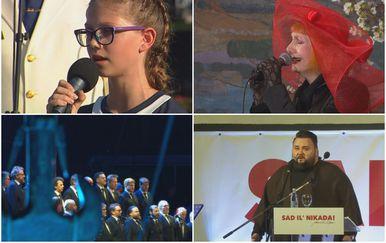Razne izvedbe hrvatske himne