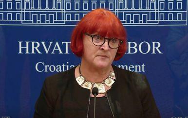 Rada Borić, potpredsjednica Nove ljevice