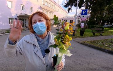 Branka Aničić - prva cijepljena protiv koronavirusa - 1