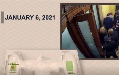Snimke probijanja prosvjednika u Kongres 6. siječnja - 4