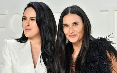 Rumer Willis i Demi Moore