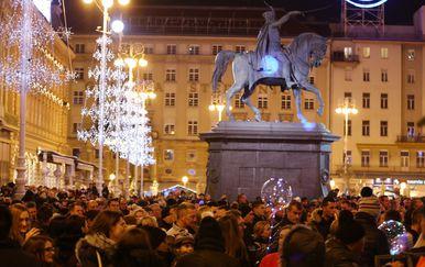 Doček Nove godine u Zagrebu (Foto: Matija Habljak/PIXSELL) - 1