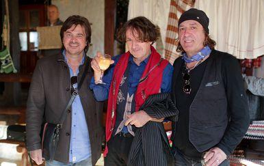 Goran Bregović, Alen Islamović i Mladen Vojičić Tifa (Foto: PIXSELL)