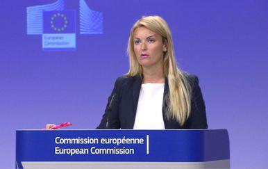 Mina Andreeva, glasnogovornica Europske komisije (Foto: Dnevnik.hr)