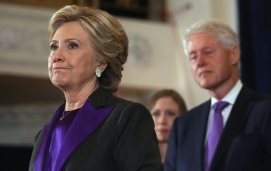 Hillary i Bill Clinton (Foto: AFP)