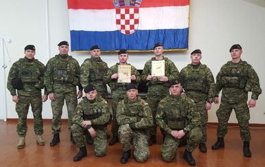 Uspjeh hrvatskih vojnika (Foto: MORH)