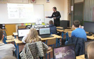 Bolja Hrvatska: Učenici volenteri podučavaju mlade (Foto: Dnevnik.hr)