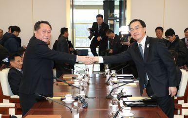 Održani pregovori Sjeverne i Južne Koreje, prvi od 2015. (Foto: AFP)