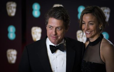 Hugh Grant i Anne Eberstein (Foto: Getty) - 2