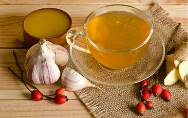 Povrtni čaj sadrži i prirodni antibiotik - češnjak