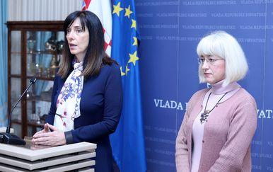Blaženka Divjak i Vesna Bedeković (Foto: Pixell)