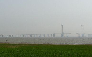 Most Shanghai Yangtze River (Foto: Wikipedia)