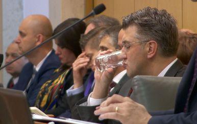Premijer Plenković i ministri u Saboru (Foto: Dnevnik.hr)