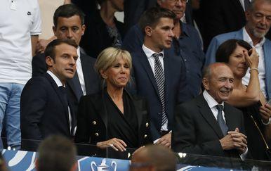 Brigitte Macron, Emmanuel Macron (FOTO: Profimedia)