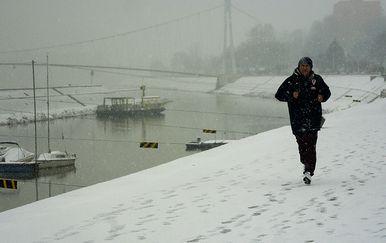 Snijeg će pasti i u nizinama (Foto: Marko Mrkonjic/PIXSELL)