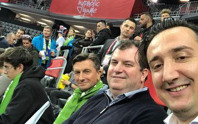 Borut Pahor, Jakov Kitarović, Tomislav Madžar (FOTO: Snimio čitatelj)