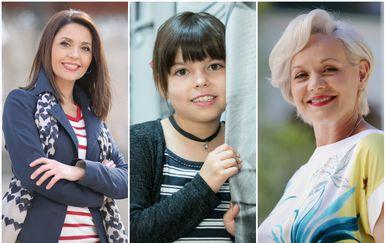 Marija Miholjek, Dora Arar, Ksenija Pajić (FOTO: Pixsell)