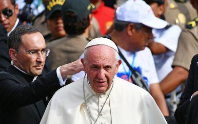Papa Franjo u Peruu (Foto: AFP)