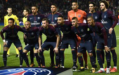 Momčad PSG-a (Foto: AFP)