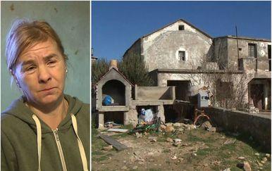 Vlaga, hladnoća, i dotrajalost kuće životna su stvarnost obitelji Krajnc (Foto: Dnevnik.hr)