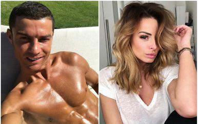 Cristiano Ronaldo, Rhian Sugden (FOTO: Instagram)