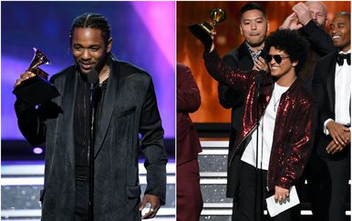 Kendrick Lamar i Bruno Mars (Foto: Getty)