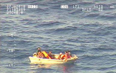 Spašeno 7 osoba s trajekta koji je potonuo prošli tjedan kod Kiribatija (Foto: AFP)