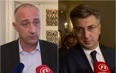 Ivan Vrdoljak i Andrej Plenković (Foto: Dnevnik.hr)