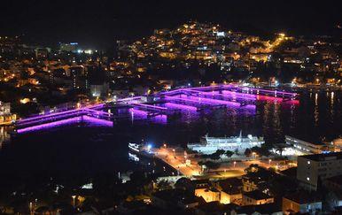 Dubrovnik svijetlio kao Las Vegas (Foto: Dulist.hr)