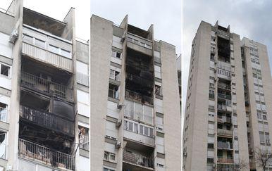 Požar u splitskom neboderu (Foto: Ivo Čagalj/PIXSELL)