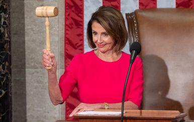 Demokratska predsjednica parlamenta Nancy Pelosi (Foto: AFP)